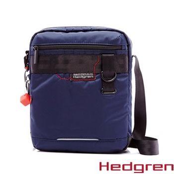 【HEDGREN】HNW -New Way 摩登商務系列-方型側背包-靛藍色