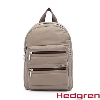 【HEDGREN】HIC -Inner City 都會系列-後背包(大)-褐色