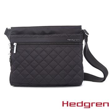 【HEDGREN】HDIT -Diamond 鑽石系列-多夾層側背包-黑色