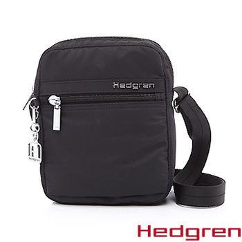 【HEDGREN】HIC -Inner City 都會系列-直式側背包-黑色
