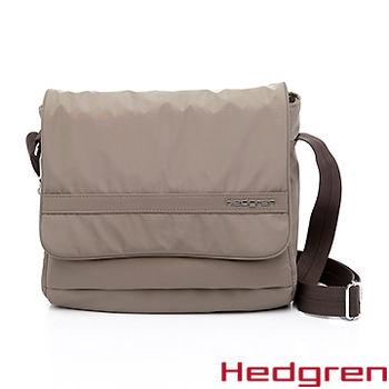 【HEDGREN】HIC -Inner City 都會系列-時尚郵差方包-褐色