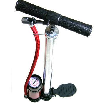 鐵馬行高壓直立式打氣筒(附氣壓表)