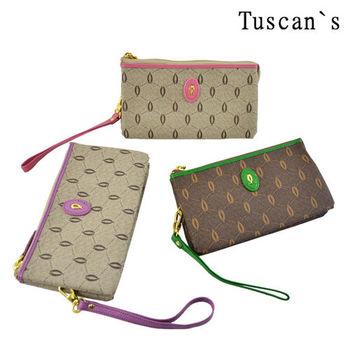 【Tuscan`s】牛皮女用手拿包-