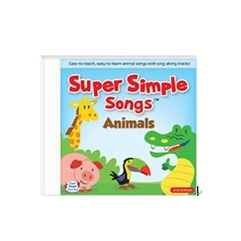 Super Simple Songs 美國超級簡單童謠專輯Animals(CD)