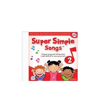Super Simple Songs 美國超級簡單童謠專輯(CD2)