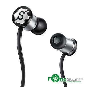Fonestuff瘋金剛 Fits抗噪重低音耳道式耳機(黑)