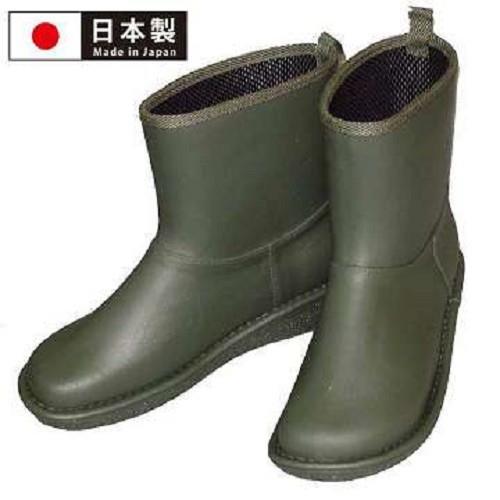 【Charming】日本製 【個性雪靴雨鞋】-綠色-712