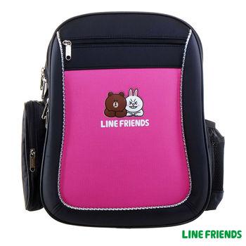 【LINE FRIENDS】MIT元氣護脊書背包 (C款_可愛兔兔)