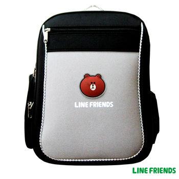 【LINE FRIENDS】MIT元氣護脊書背包 (A款_無辜熊大)