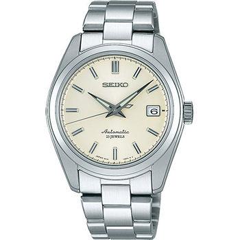 SEIKO 都會精英6R15機械腕錶-銀 6R15-00C0S(SARB035J)