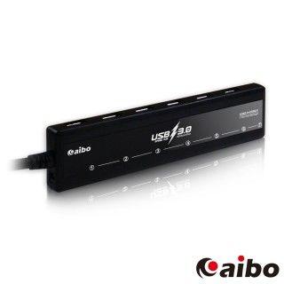 【aibo】H32 USB3.0 獨立開關 7PORT HUB 集線器