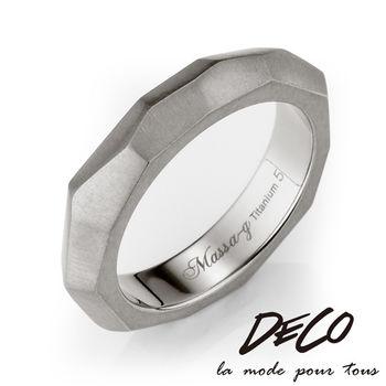 DECO X MASSA-G【純粹】純鈦戒指