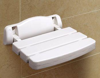 【COLOR】牆掛式折疊洗澡椅(抗菌防霉)
