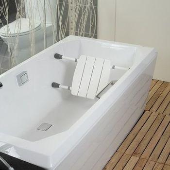 【COLOR】多功能靠背洗澡椅(抗菌防霉)