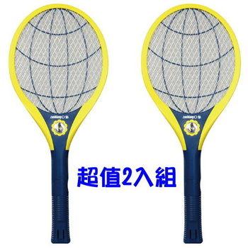《2入超值組》【日象】充電式特大拍電蚊拍 ZOM-3400