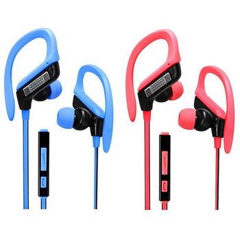【KINYO】運動型智慧手機用耳機麥克風(IPEM-81)