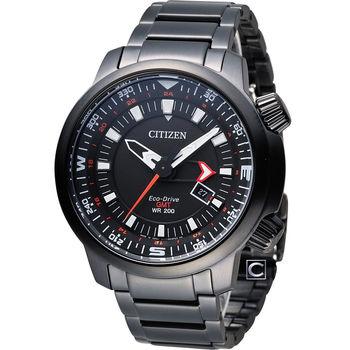 CITIZEN PROMASTER 全方位休閒時尚運動錶 BJ7086-57E 黑