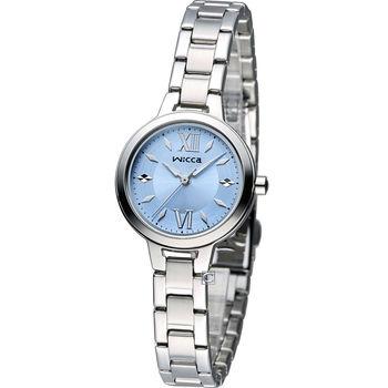 星辰 CITIZEN WICCA 英倫風優雅時尚腕錶 BG3-716-71 藍