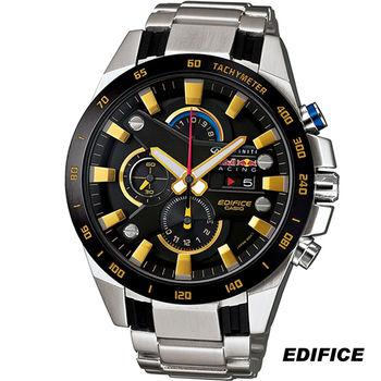 CASIO EDIFICE  賽車限量紀念錶 EFR-540RB-1A 黑x金