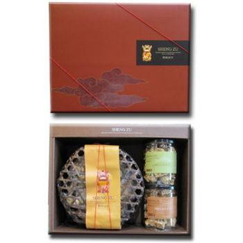 聖祖金門貢糖 鸕鶿禮盒(B)+花采禮盒(B)+皇禮禮盒(A)