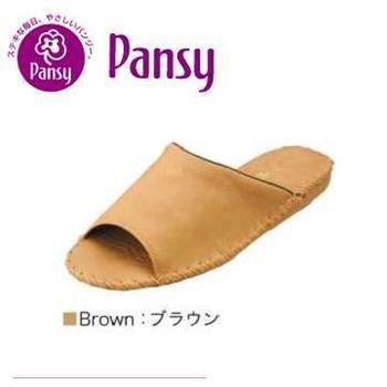 【Pansy】室內男士拖鞋9723-咖啡色