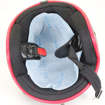 免洗純木漿製造安全帽內櫬墊-12入(4包)