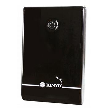 【KINYO】真實6500mAh尊榮高容量雙輸出行動電源(KPB-120)