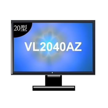 BenQ VL2040AZ 20型低藍光不閃屏螢幕