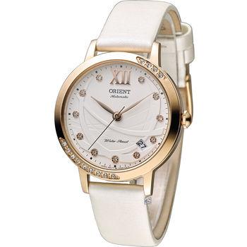 東方 ORIENT 永恆耀眼時尚機械腕錶  FER2H003W 白