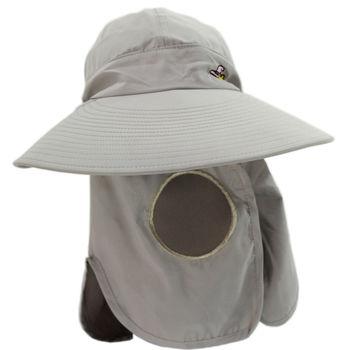 OMAX多功能透氣遮陽帽-女性專用