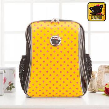 【UNME】中低年級適用-可愛泡泡減壓書包(黃色3232)