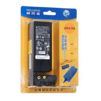 WS 威而省 筆電/LCD 交換式電源變壓器(19V4.74A)