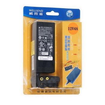 WS 威而省 LCD專用 交換式電源變壓器(12V4A)