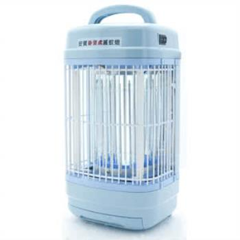 《買就送電蚊拍》【安寶】8W捕蚊燈 AB-9208