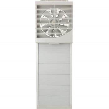 【永用】台灣製造10吋窗型吸排風扇/吸排兩用風扇(FC1012)