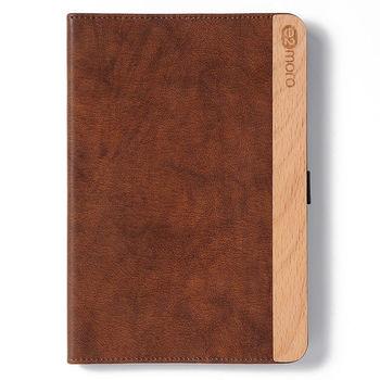 e2moro iPad mini3 原木筆記型保護套(咖啡麂)