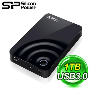 Silicon Power 廣穎 H10 1TB USB3.0 2.5吋 Wi-Fi行動硬碟