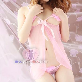 【即性樂活情趣】透明可愛短裙式激情性感睡衣
