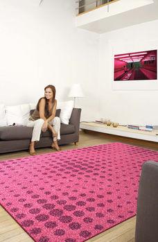 【范登伯格】諾拉粉繽紛普普藝術前衛設計進口地毯200x290cm