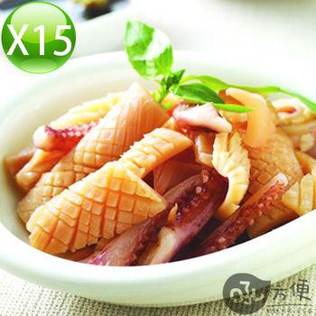 【吼方便】祕魯魷魚翅條-15入組(600g/包)