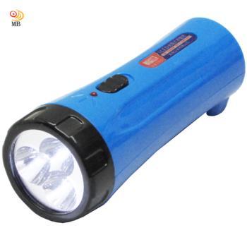 月陽迷你3LED充電式手電筒露營燈超值2入(NM-1293)