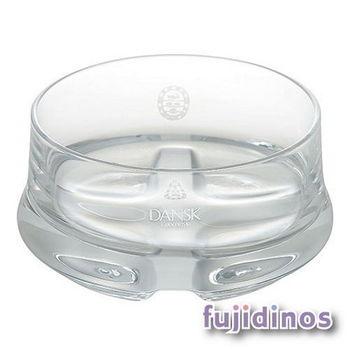 Fujidinos【DANSK】晶透質感玻璃碗(白色)