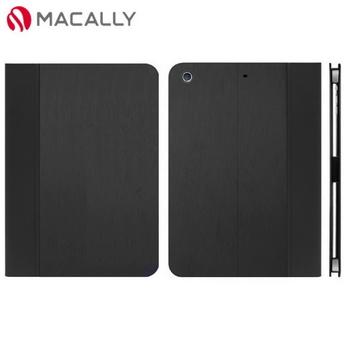 【Macally】iPad Air側掀可站立式皮套-黑色(SCASEPA5B)