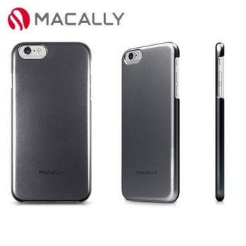 【Macally】iPhone 6Plus(5.5)金屬質感防護背蓋-黑(SNAPP6LB)