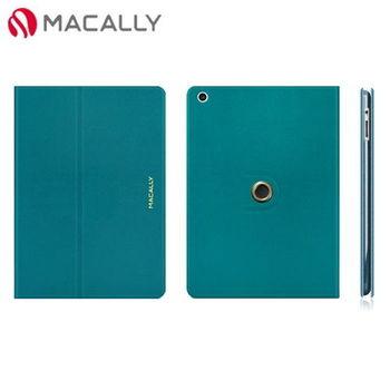 【Macally】iPad Air可旋轉支架式保護套-藍色(SSTANDPA5TU)