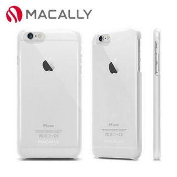【Macally】iPhone 6Plus(5.5)金屬質感防護背蓋-透明(SNAPP6LC)