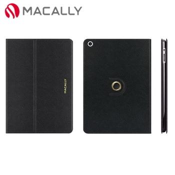 【Macally】iPad Air可旋轉支架式保護套-黑色(SSTANDPA5B)