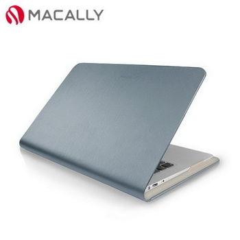 【Macally】APPLE 11吋 MacBook Air時尚纖薄保護套-銀(SLIMFOLIO11M)
