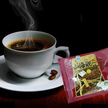 《山海觀咖啡莊園》二合一即溶咖啡100入(散裝)