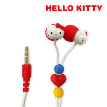Hello Kitty 迷你心型立體聲耳機